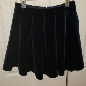 Lauren Conrad Velvet Skirt